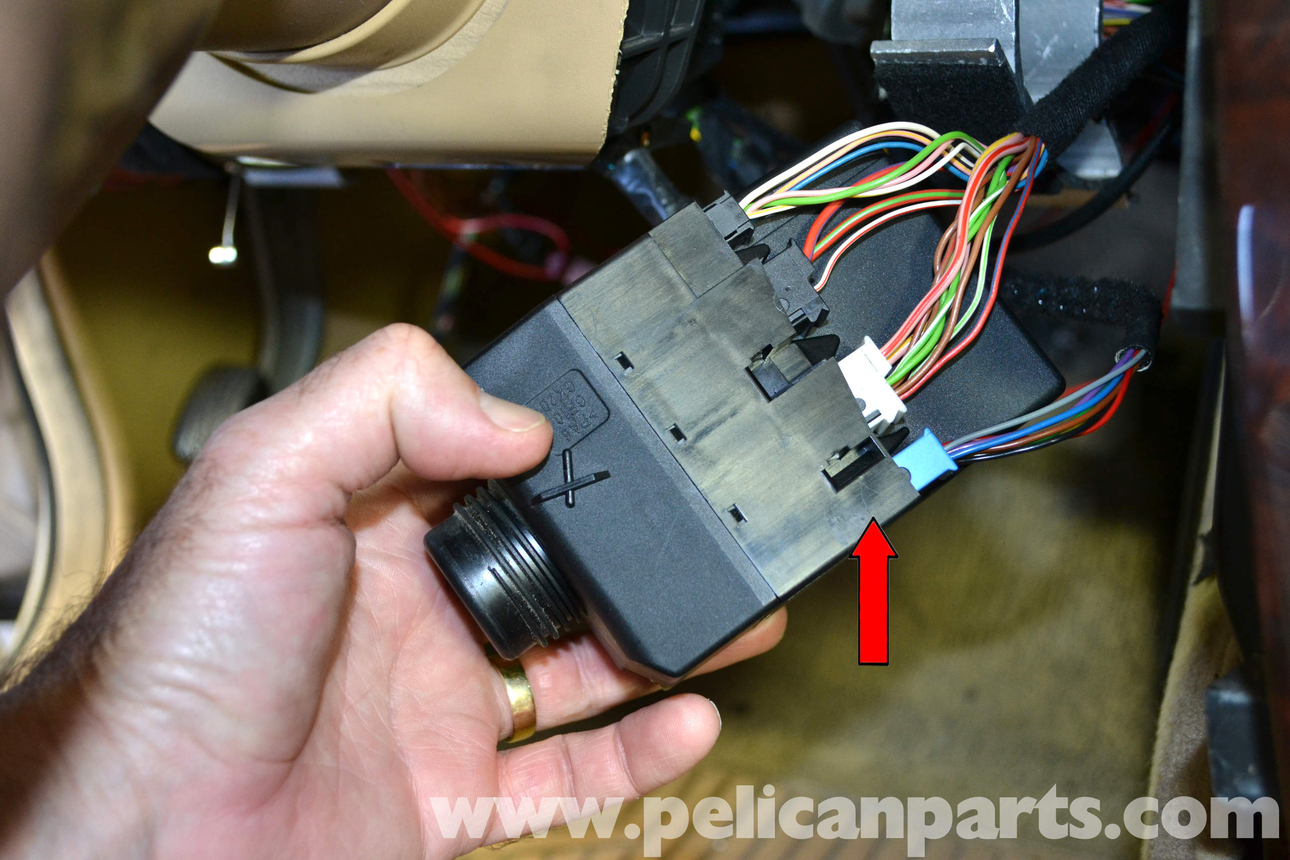 mercedes c320 starter relay location