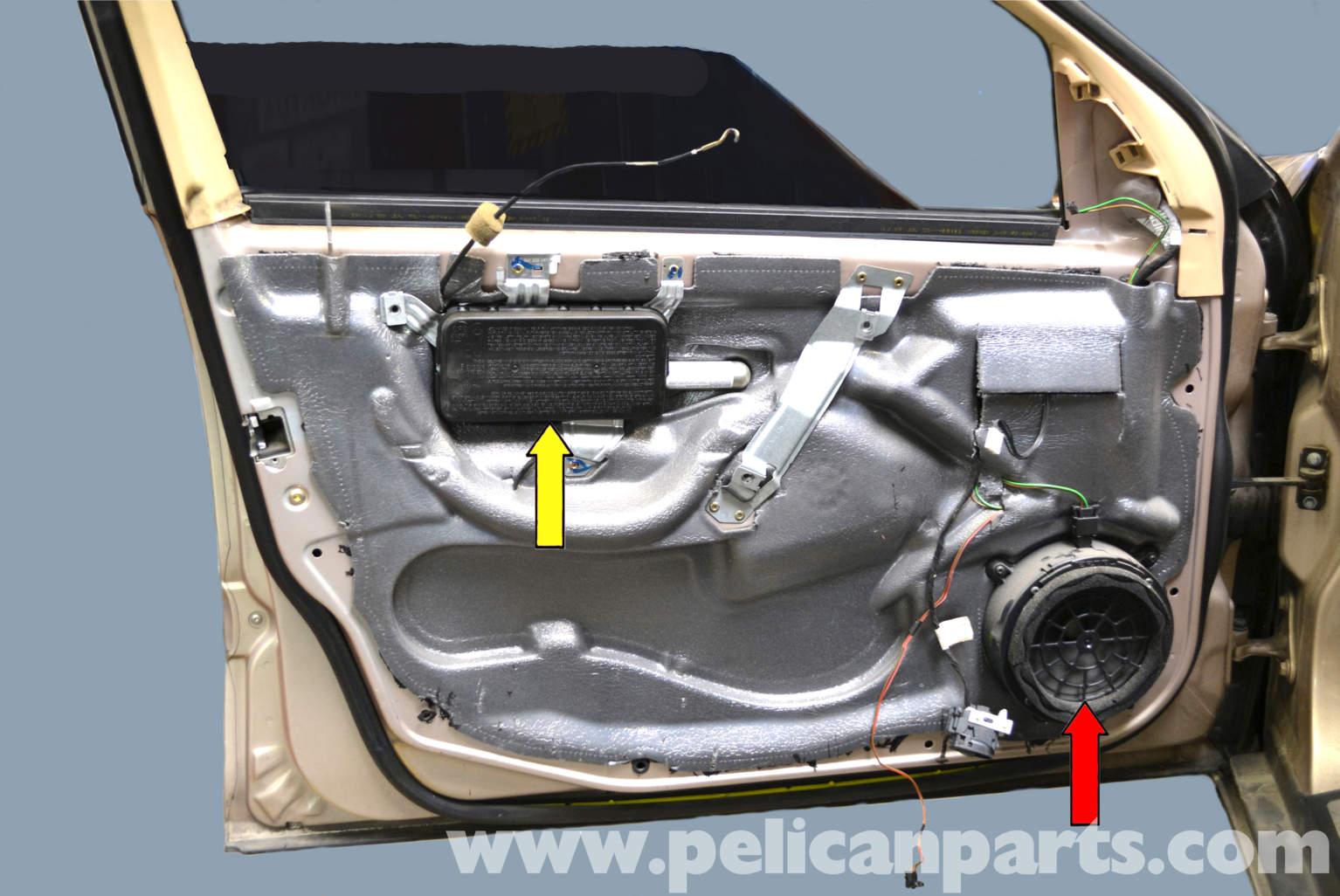 Mercedes Benz W203 Front Window Regulator Replacement
