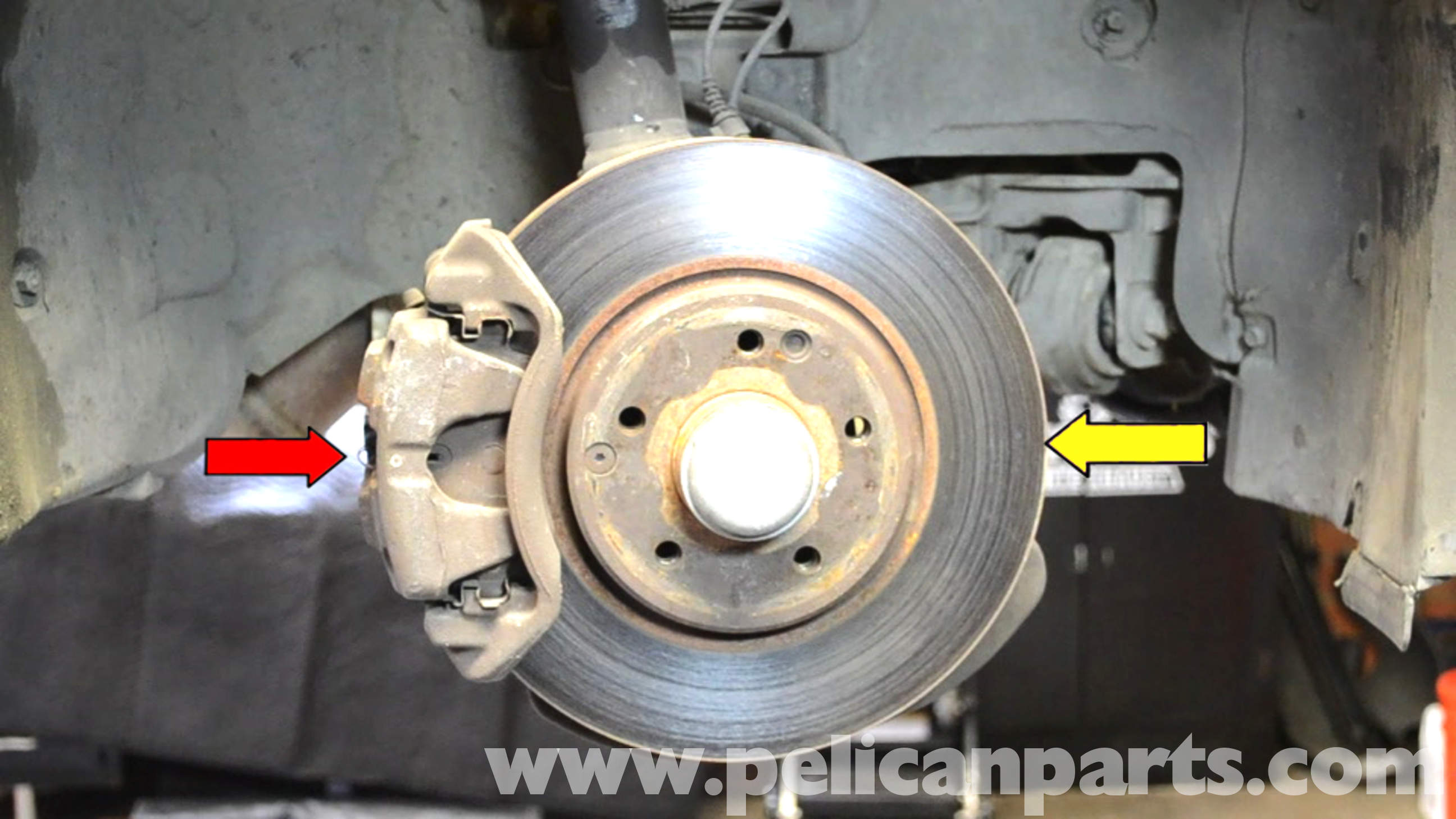 mercedes benz w203 front brake rotor replacement 2001
