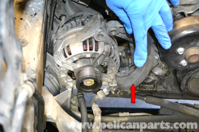 how to clean oil out of an alternator