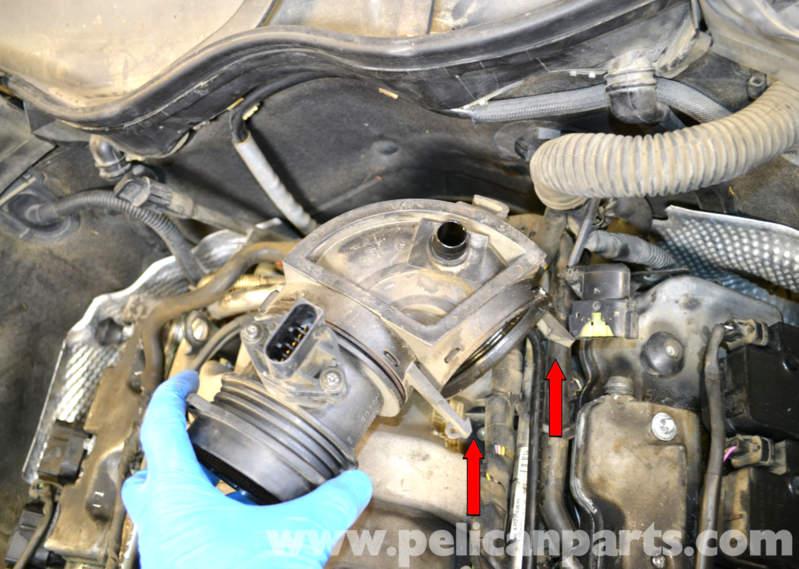 Mercedes Benz W203 Maf Mass Air Flow Sensor Replacement