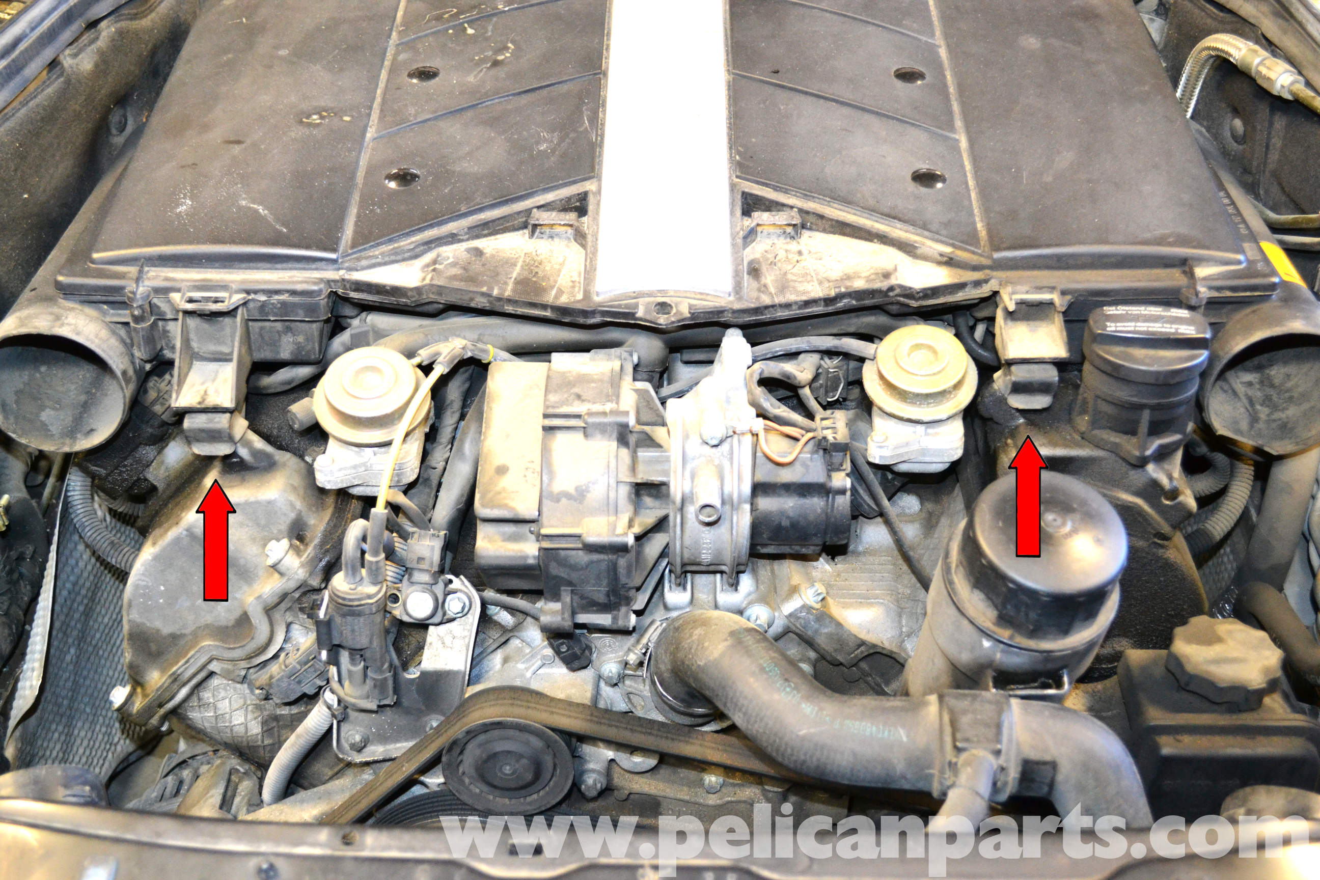 Location of egr valve 2002 c320 mercedes gmc egr valve for Mercedes benz egr valve replacement