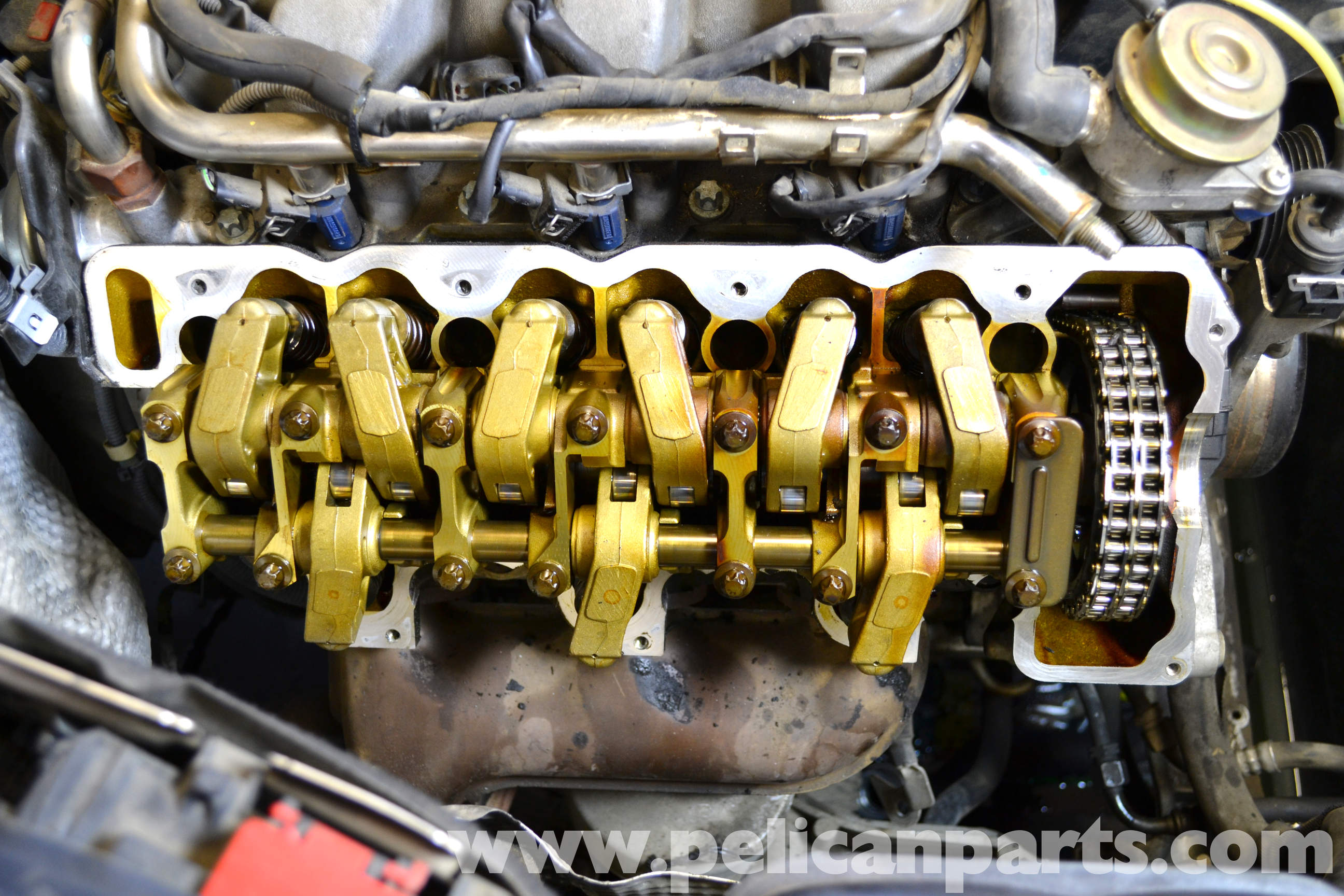 Mercedes Benz W203 Valve Cover Gasket Replacement 2001