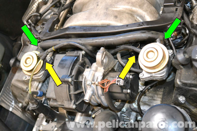 Mercedes Benz W203 Fuel Injector Replacement 2001 2007