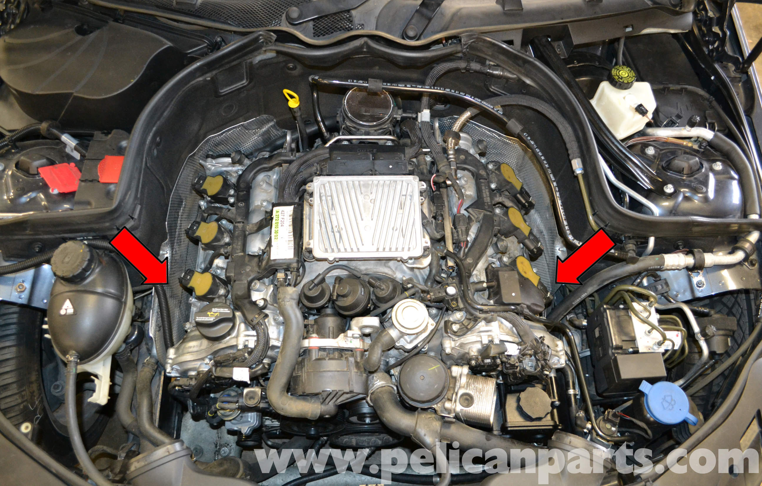 Pelican Technical Article - Mercedes-Benz W204 - Engine Mount