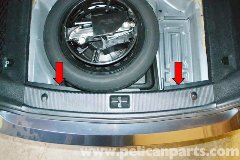 Pelican Technical Article Mercedes Benz W204 Rear Bumper Cover Removal