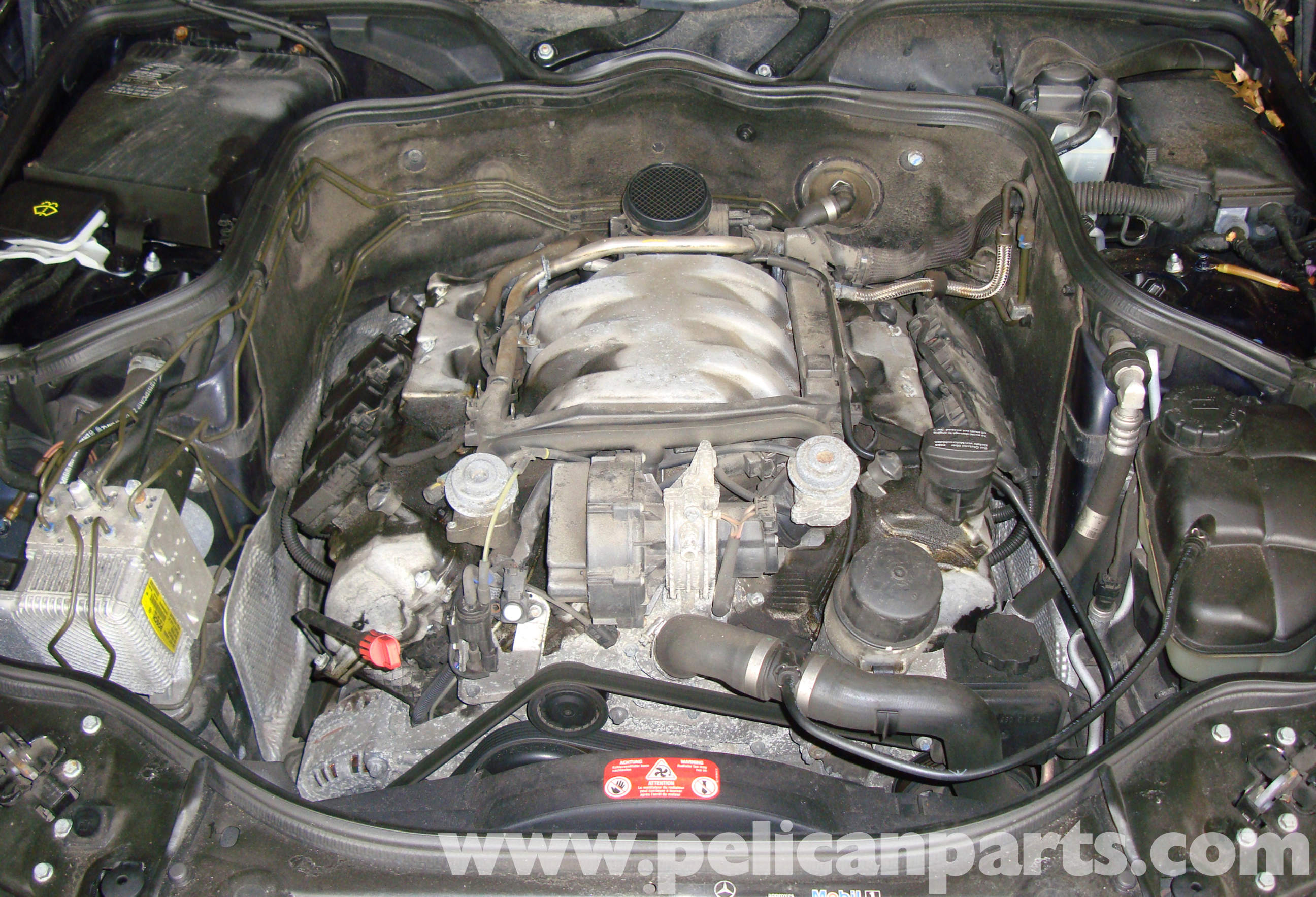 Mercedes benz w211 engine management systems 2003 2009 for Mercedes benz fuel injector problems