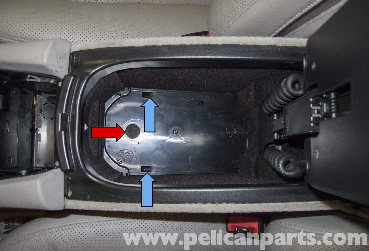 Pelican technical article mercedes benz w211 center console replacement for Mercedes benz replacement parts for the interior