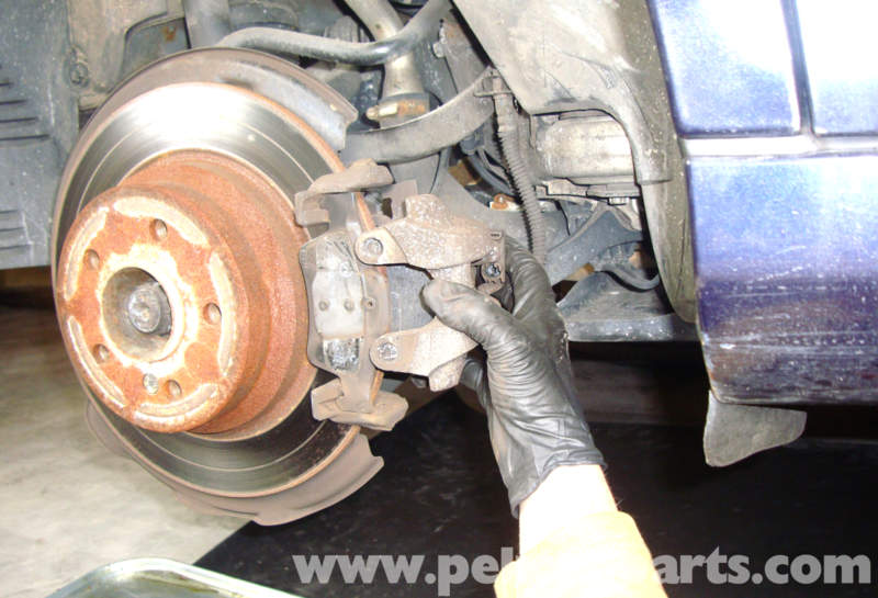 mercedes benz w211 parking brake shoes replacement 2003