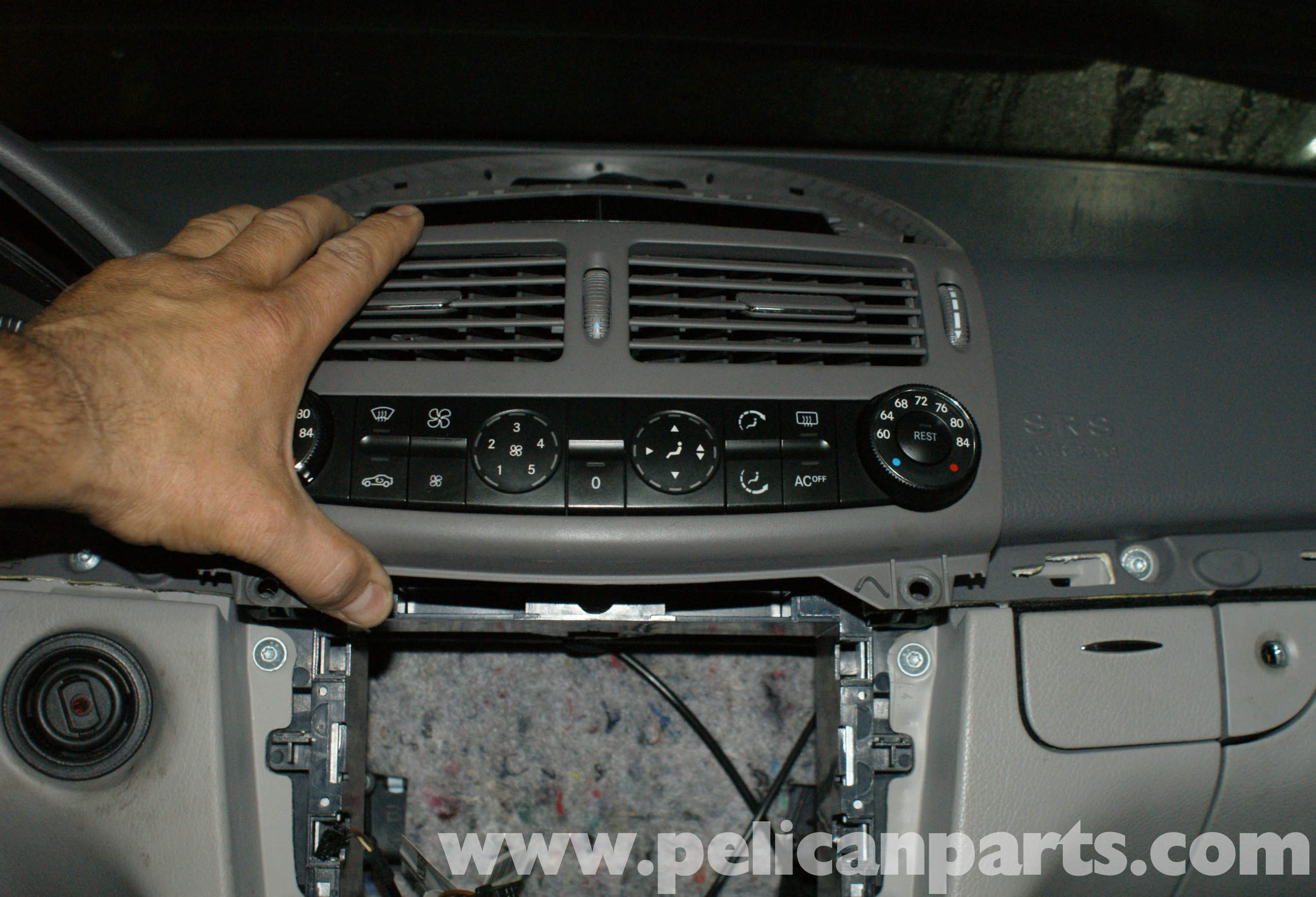 Mercedes benz w211 climate control unit replacement 2003 for 2008 mercedes benz ml350 problems