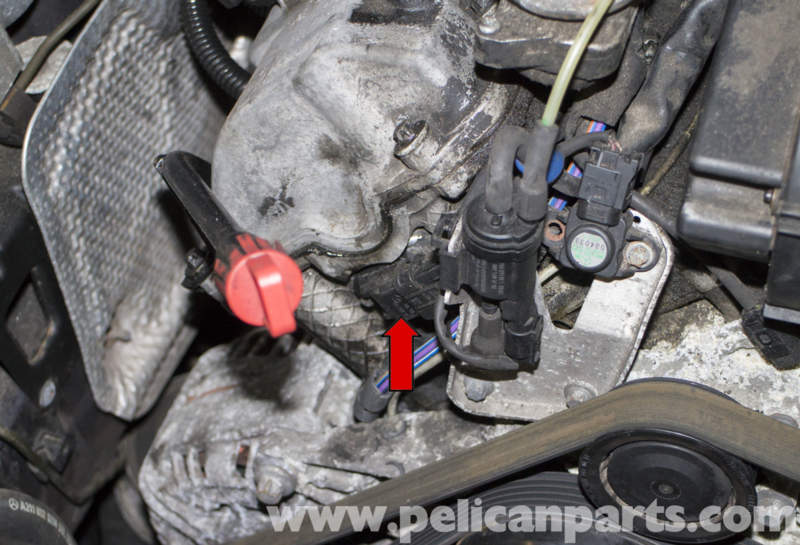 Mercedes Benz W211 Camshaft Position Sensor Replacement 2003 2009 E320 Pelican Parts Diy