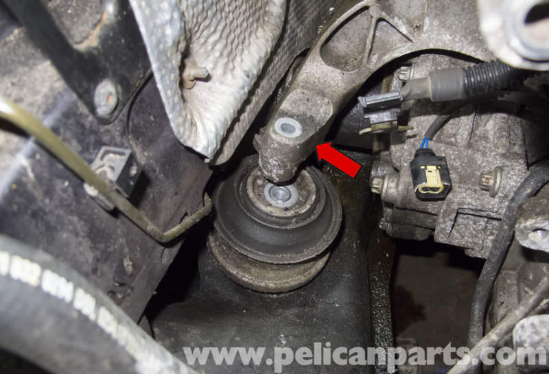 Mercedes Benz W211 Engine Mount Replacement 2003 2009