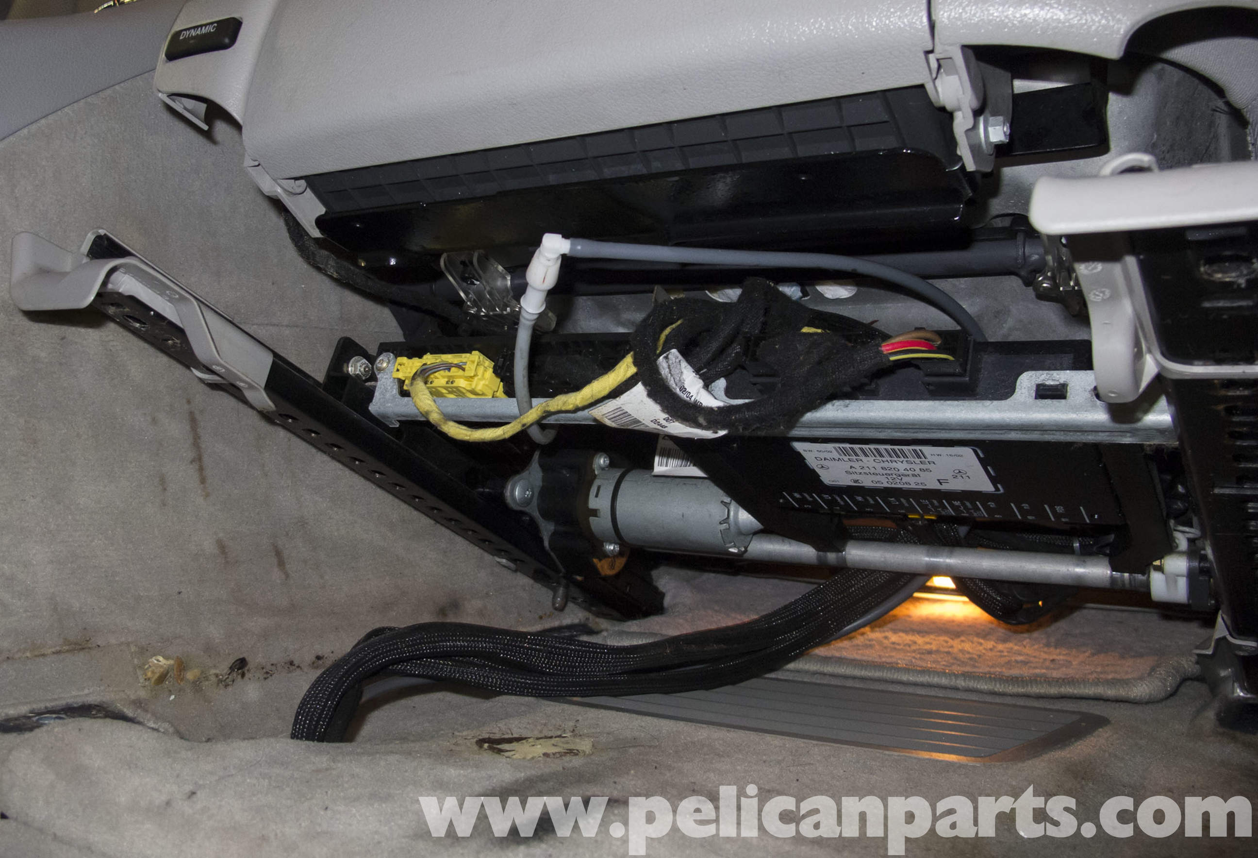 Mercedes Benz W211 Seat Removal And Replacement 2003 2009