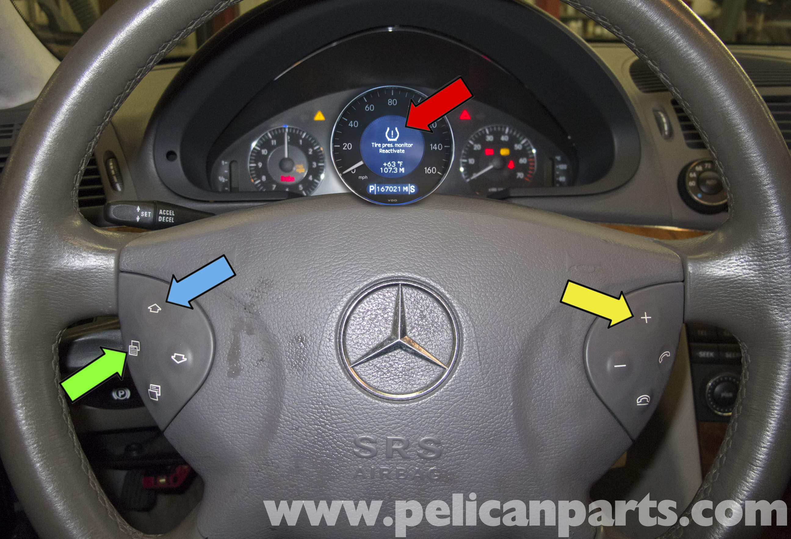 Mercedes benz w211 door latch replacement 2003 2009 e320 for Mercedes benz tire replacement