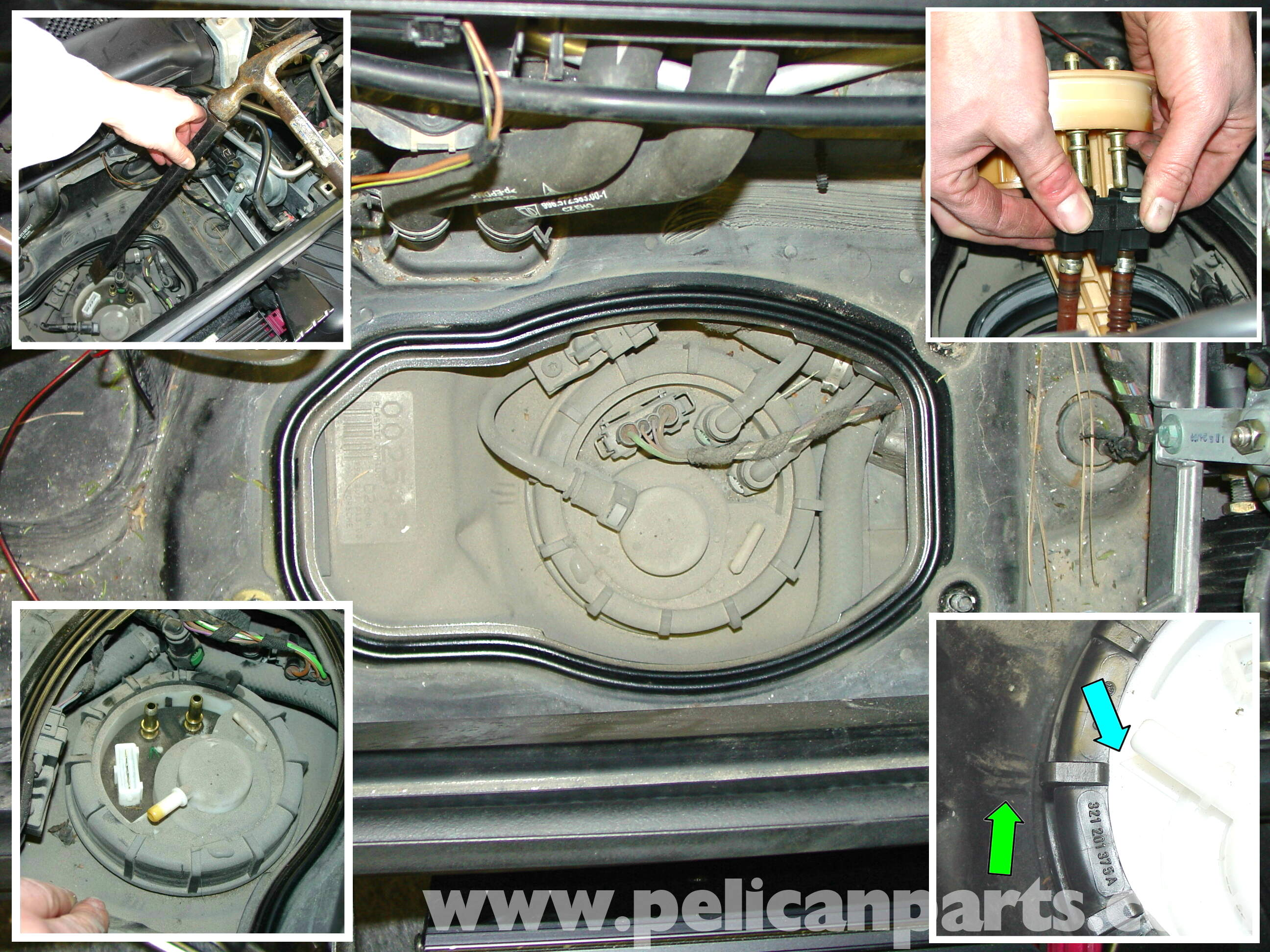 porsche 911 carrera fuel pump replacement