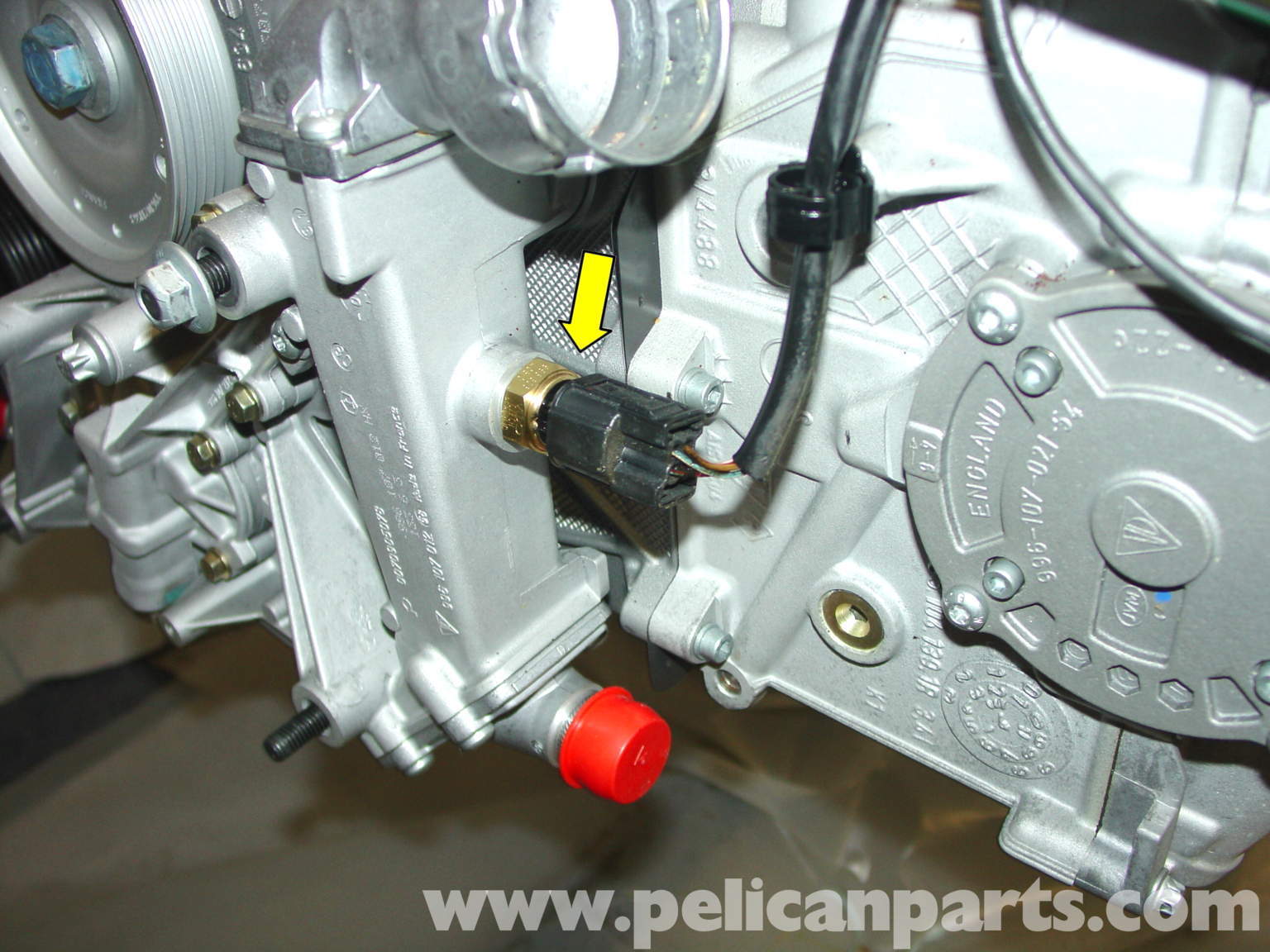 santa fe oil filter location 2015