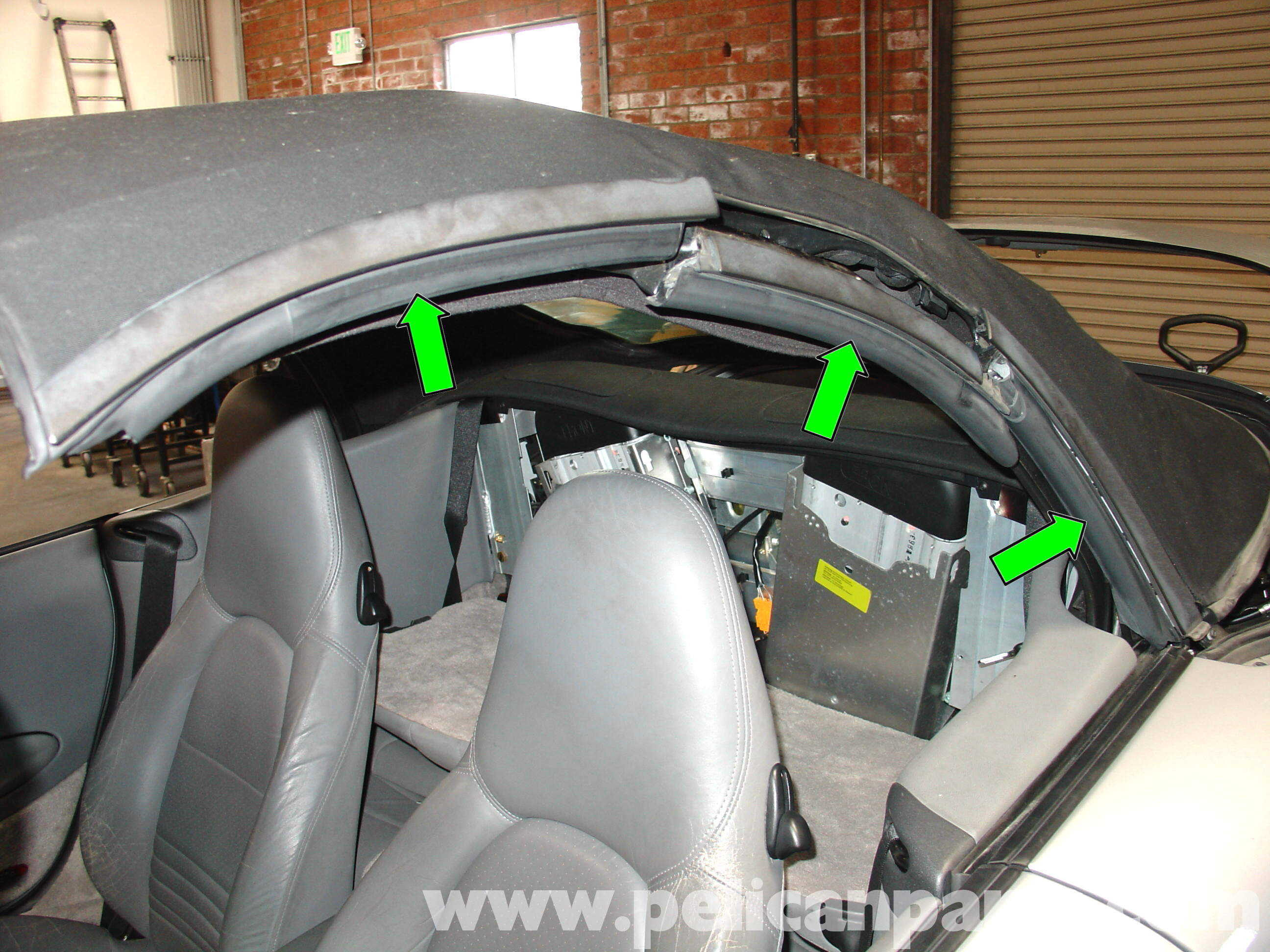 Porsche 911 Carrera Common Convertible Top Problem Repair