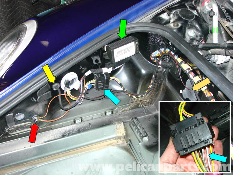 pic03 porsche 911 carrera litronic headlamp installation 996 (1998 porsche 928 replacement dash wiring harness at gsmx.co