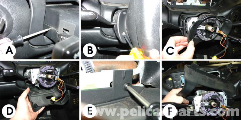Porsche 911 Carrera On Board Computer Turn Signal