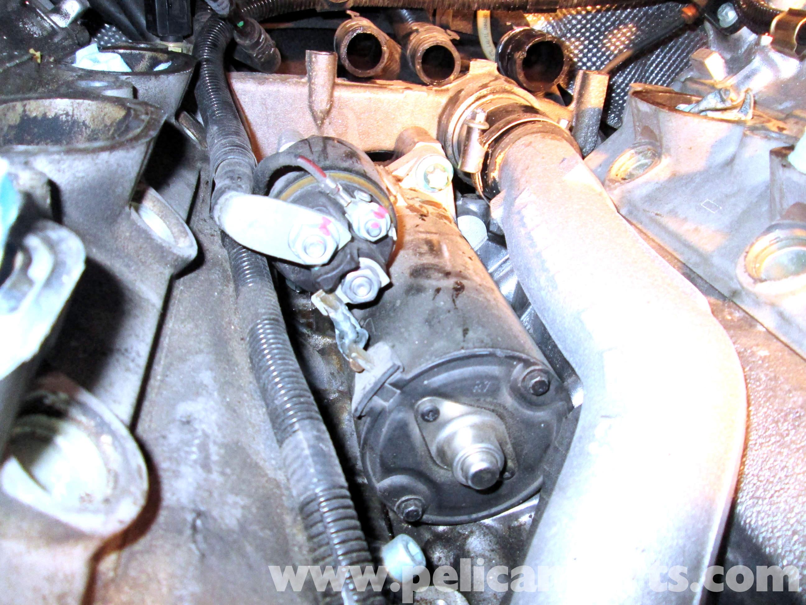 Porsche Cayenne Starter Replacement 2003 2008 Pelican
