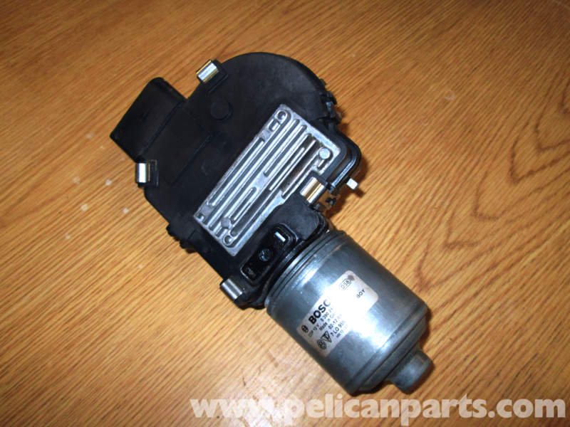 Porsche Cayenne Wiper Motor Replacement 2003 2008 Pelican Parts Diy Maintenance Article