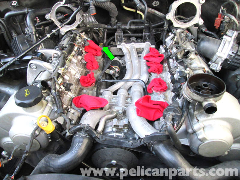 Cayenne 957 48l V8 Thermostat And Water Pump Diy 6speedonline Rh6speedonline: Porsche Cayenne Thermostat Location At Gmaili.net