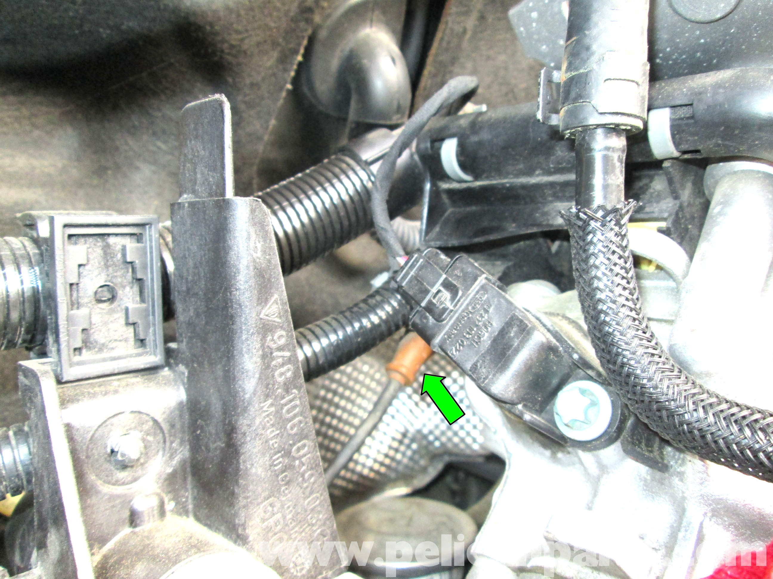 Porsche Cayenne Crankshaft Position Sensor Replacement