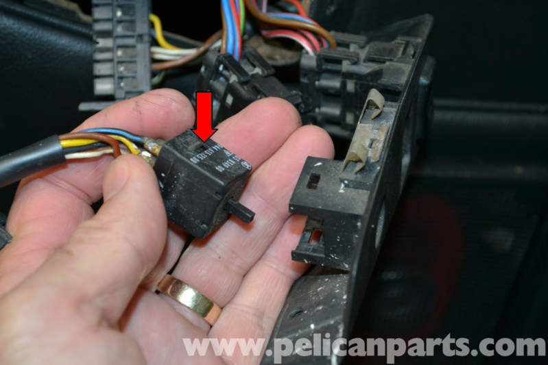 pelican technical article porsche 944 turbo window and mirror switch replacement