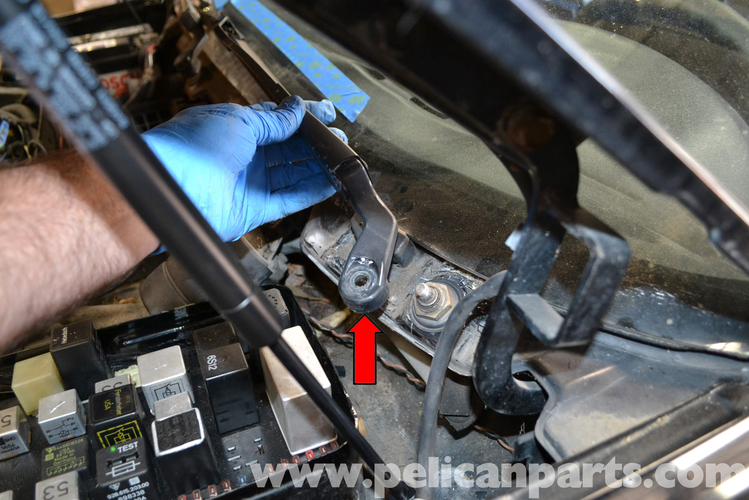 Pelican technical article porsche 944 turbo windshield for Windshield motor replacement cost