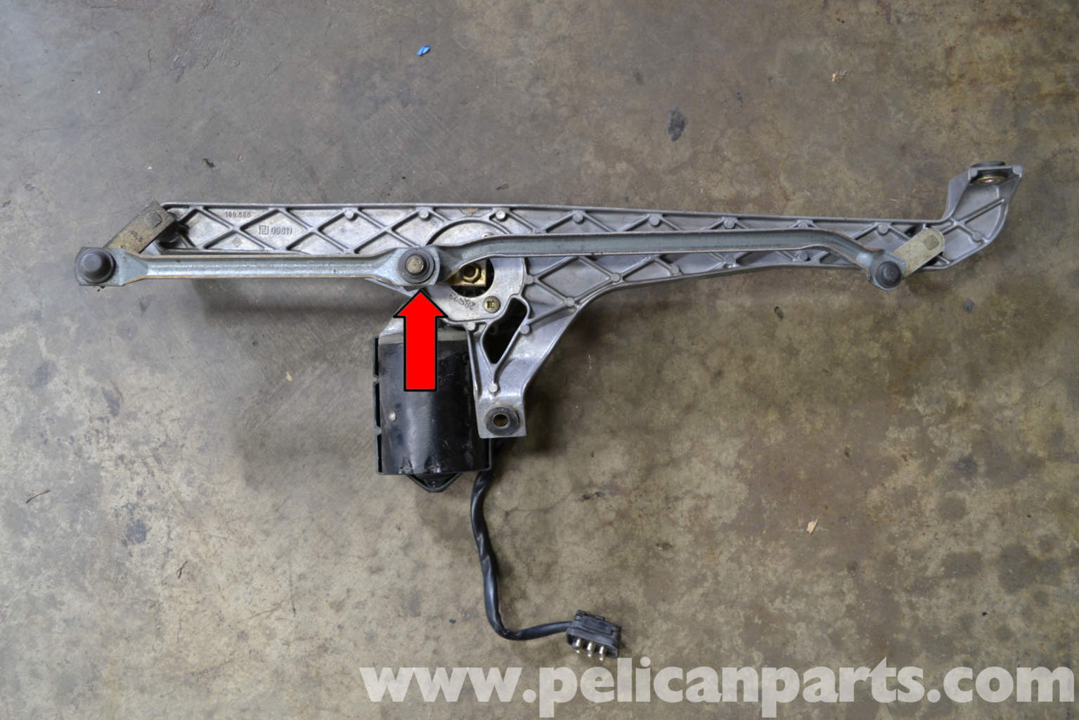 Windshield Wiper Motor Replacement on Wiver Motor Replacement