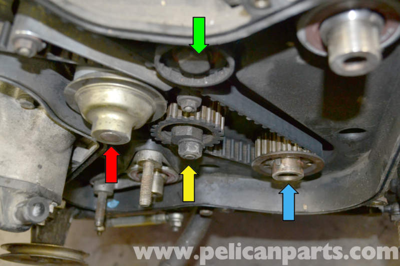 Porsche 944 Turbo Timing Belt Replacement  1986