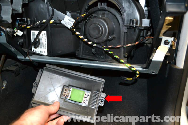 volkswagen golf gti mk iv blower motor and resistor