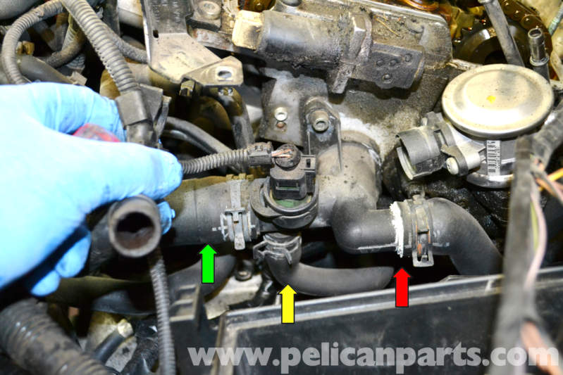 volkswagen golf gti mk iv radiator hose replacement  1999