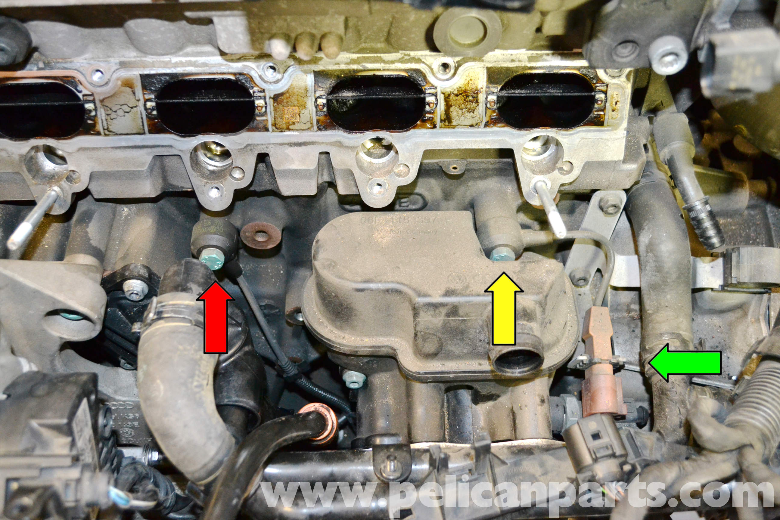 Volkswagen Golf Gti Mk V Knock Sensor Replacement 2006