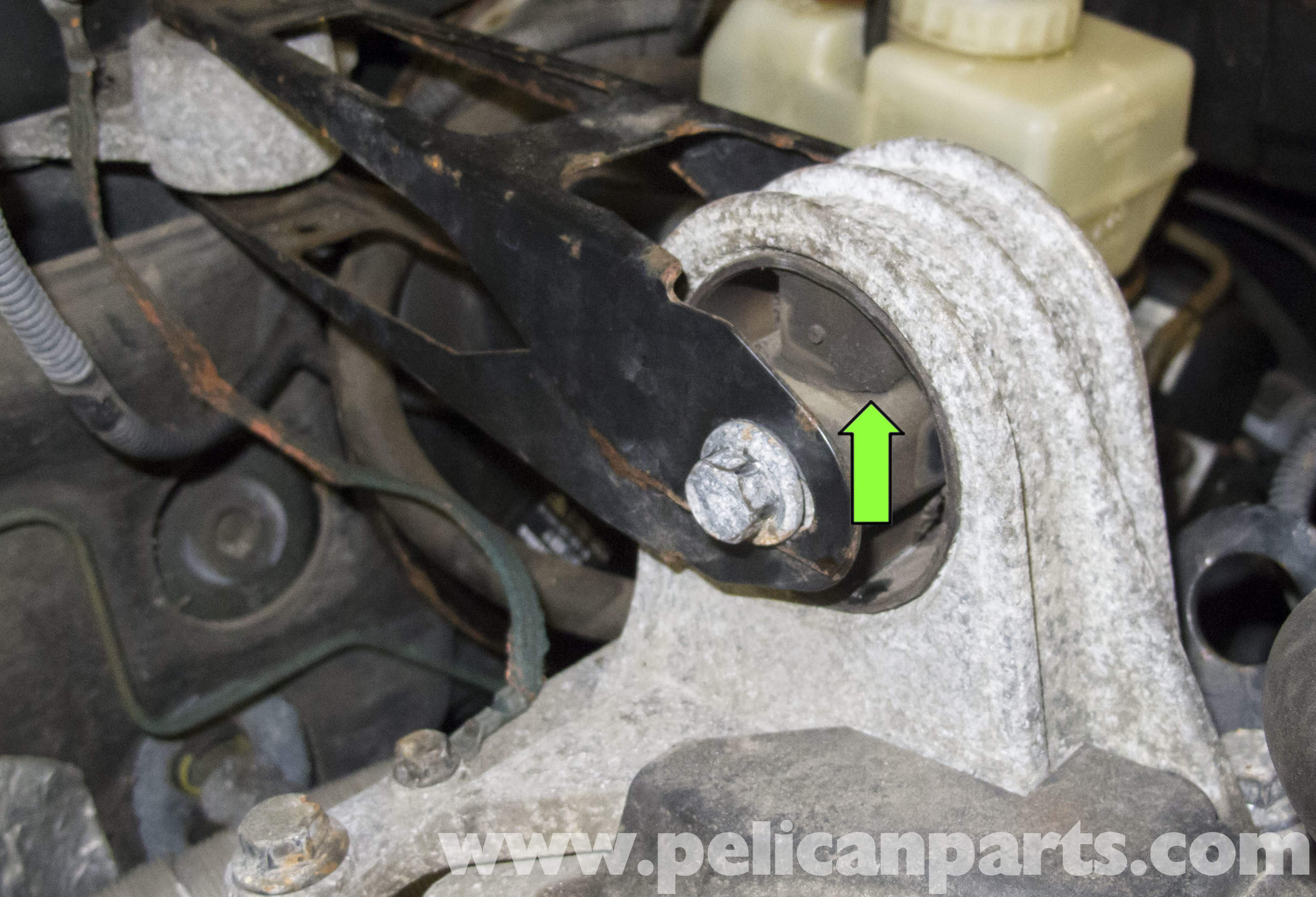 Volvo V70 Upper Engine Mount Replacement (1998-2007) - Pelican Parts DIY Maintenance Article