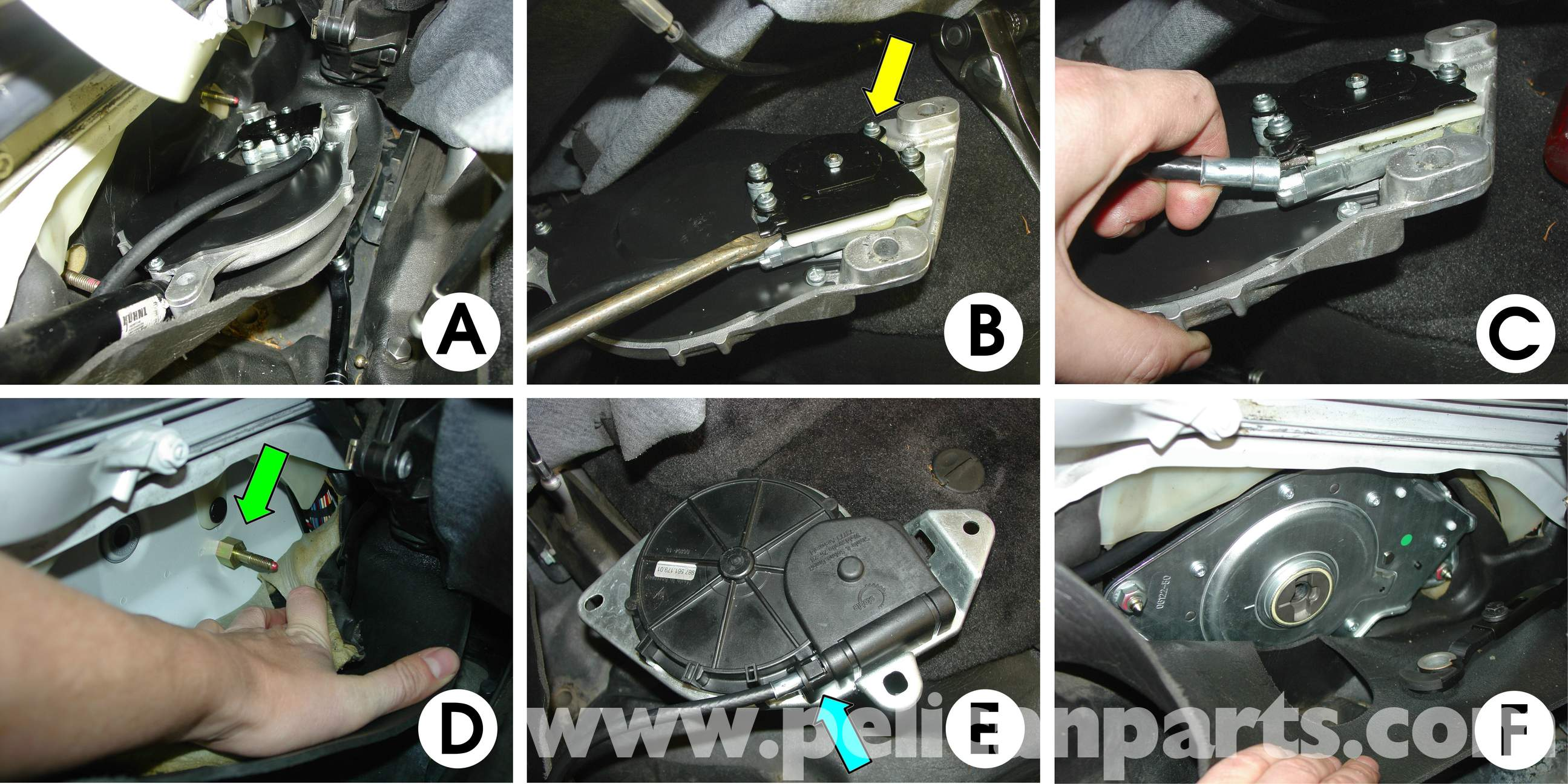 Porsche Boxster Convertible Top Repair 986 987 1997