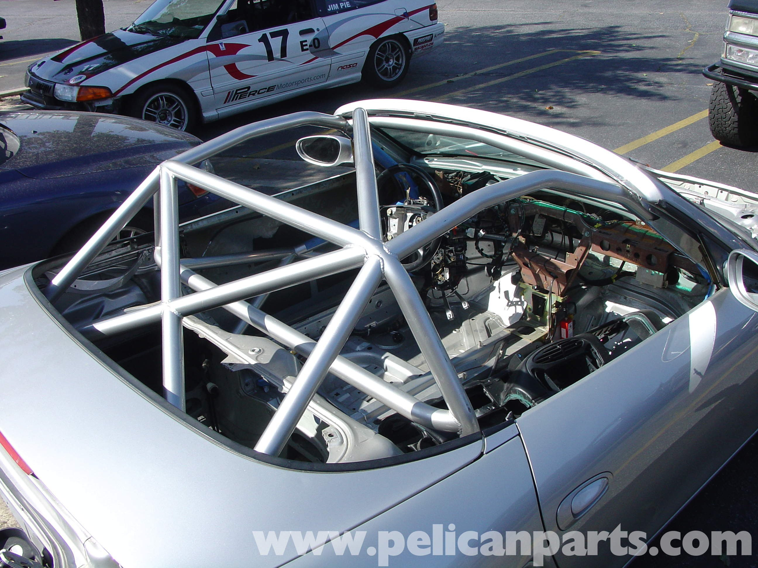 Boxster Track Preparation Boxster Rollbar Extension