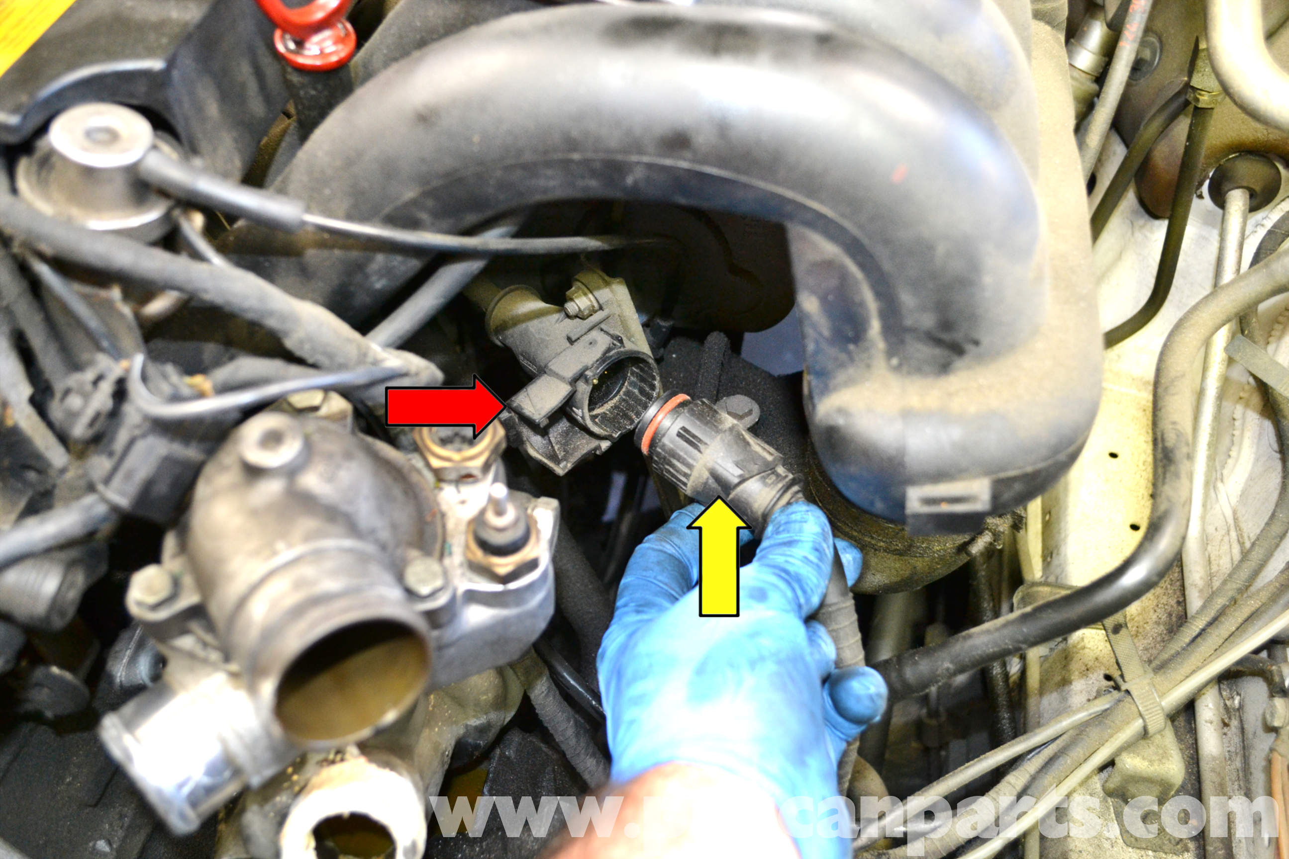 how to clean your engine bay without water