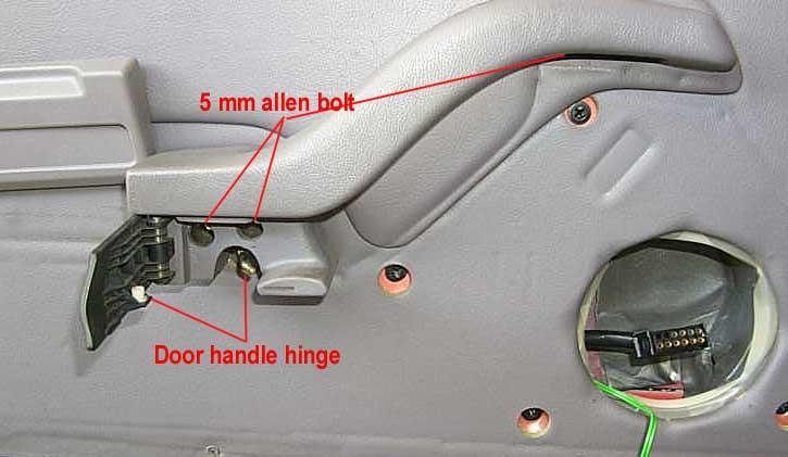 driver door interior speaker housing falling off. Black Bedroom Furniture Sets. Home Design Ideas