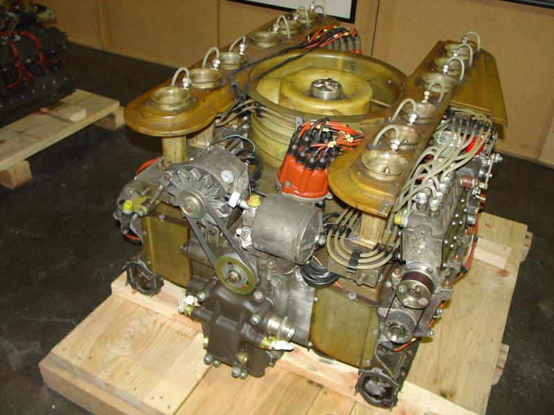 Porsche 917 Engine 4